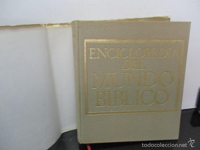 Enciclopedias de segunda mano: ENCICLOPEDIA DEL MUNDO BIBLICO. TOMO - 2 (TOMO II, I-Z). - Foto 3 - 57810770
