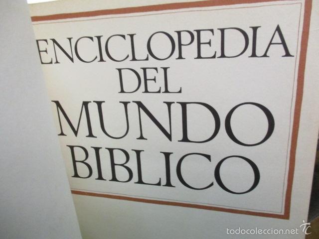 Enciclopedias de segunda mano: ENCICLOPEDIA DEL MUNDO BIBLICO. TOMO - 2 (TOMO II, I-Z). - Foto 4 - 57810770