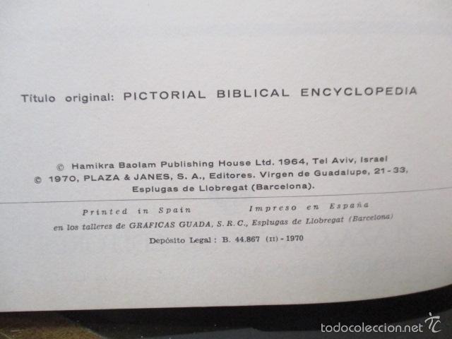 Enciclopedias de segunda mano: ENCICLOPEDIA DEL MUNDO BIBLICO. TOMO - 2 (TOMO II, I-Z). - Foto 7 - 57810770