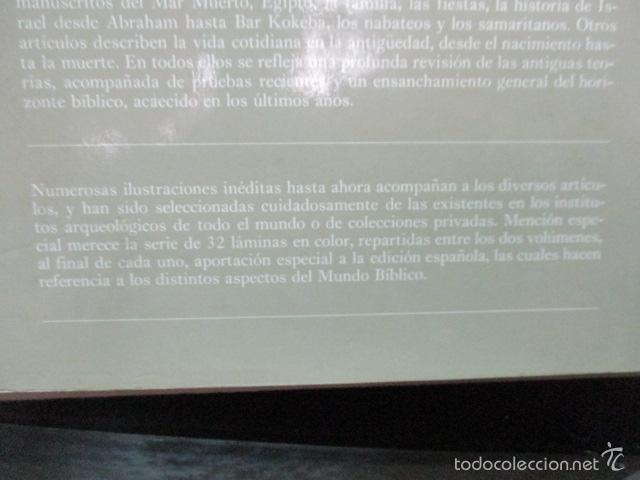 Enciclopedias de segunda mano: ENCICLOPEDIA DEL MUNDO BIBLICO. TOMO - 2 (TOMO II, I-Z). - Foto 20 - 57810770