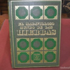 Enciclopedias de segunda mano: EL MARAVILLOSO MUNDO DE LAS HIERBAS , EDICIONES EDITORS. Lote 58083251