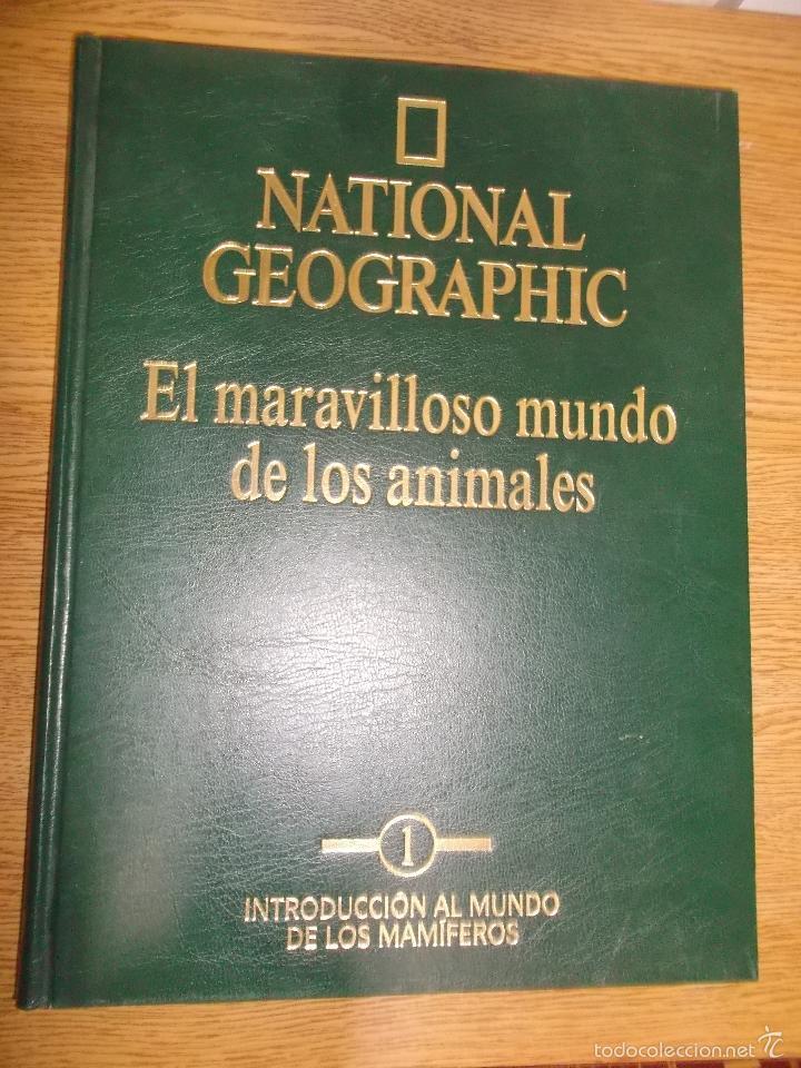 NATIONAL GEOGRAPHIC - EL MARAVILLOSO MUNDO DE LOS ANIMALES. (Libros de Segunda Mano - Enciclopedias)