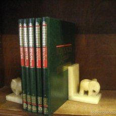 Enciclopedias de segunda mano: 5 TOMOS / LIBROS - ENCICLOPEDIA ROMANCES REALES - ED. PLANETA DEAGOSTINI, AÑO 1991 ENCI-C5. Lote 59736548