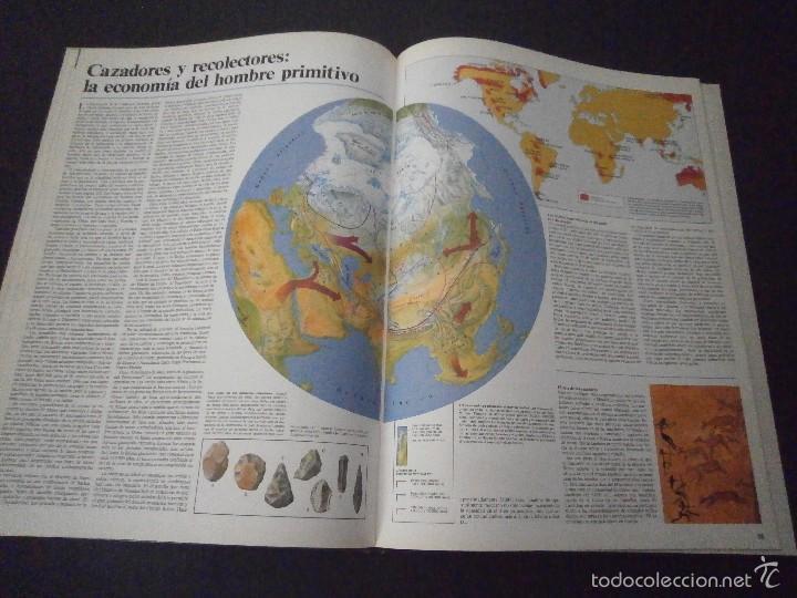 Enciclopedias de segunda mano: 1 LIBRO TAPA DURA AÑO 1985 - EL MUNDO - GRAN ATLAS DE HISTORIA ( TOMO 1 ) - Foto 3 - 60660259
