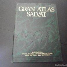 Enciclopedias de segunda mano: 1 LIBRO AÑO 1984 - GRAN ATLAS SALVAT - EUROPA FISICA POLITICA SEPTENTRIONAL PAISES BALTICOS TOMO 2 ). Lote 60660655