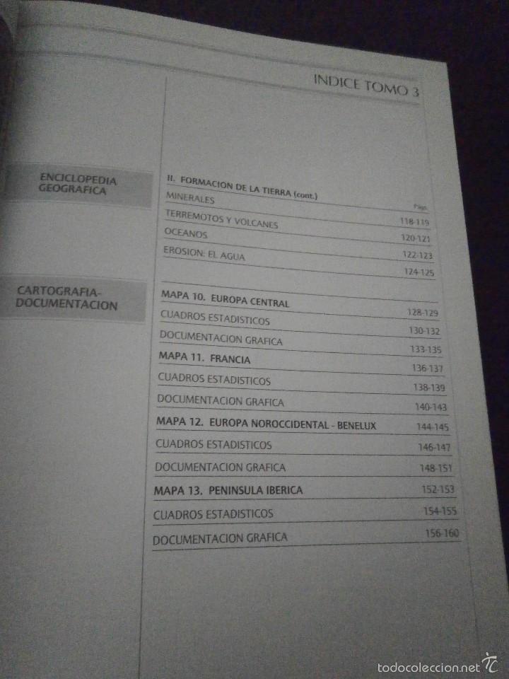 Enciclopedias de segunda mano: 1 LIBRO AÑO 1984 - GRAN ATLAS SALVAT - TOMO 3 - EUROPA CENTRAL FRANCIA NOROCCIDENTAL BENELUX PEN. IB - Foto 4 - 60661403