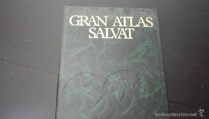 1 LIBRO AÑO 1984 - GRAN ATLAS SALVAT TOMO 5 - ASIA FISICA POLITICA OCCIDENTAL PROXIMO Y MEDIO ORIENT (Libros de Segunda Mano - Enciclopedias)