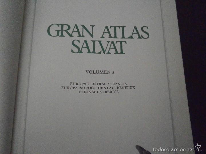 Enciclopedias de segunda mano: 1 LIBRO AÑO 1984 - GRAN ATLAS SALVAT TOMO 5 - ASIA FISICA POLITICA OCCIDENTAL PROXIMO Y MEDIO ORIENT - Foto 3 - 60661627