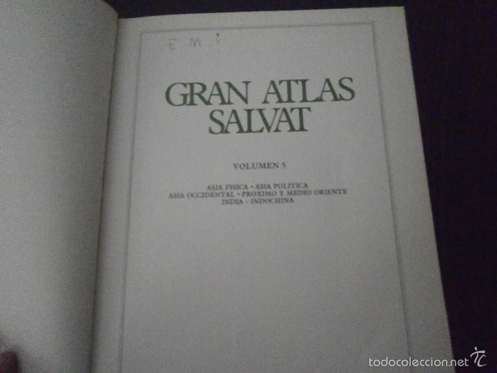 Enciclopedias de segunda mano: 1 LIBRO AÑO 1984 - GRAN ATLAS SALVAT TOMO 4 - ITALIA PAISES ALPINOS DANUBIANOS BALCANES URSS - Foto 3 - 60661747