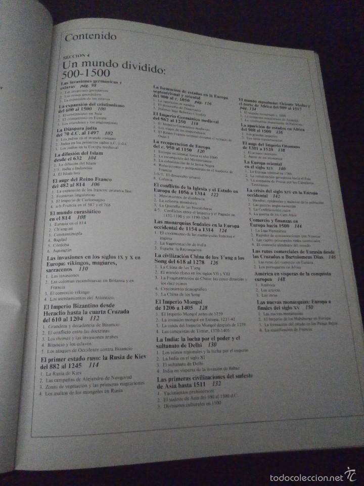 Enciclopedias de segunda mano: 1 LIBRO AÑO 1985 - GRAN ATLAS DE HISTORIA ( TOMO 3 ) - Foto 2 - 60662403