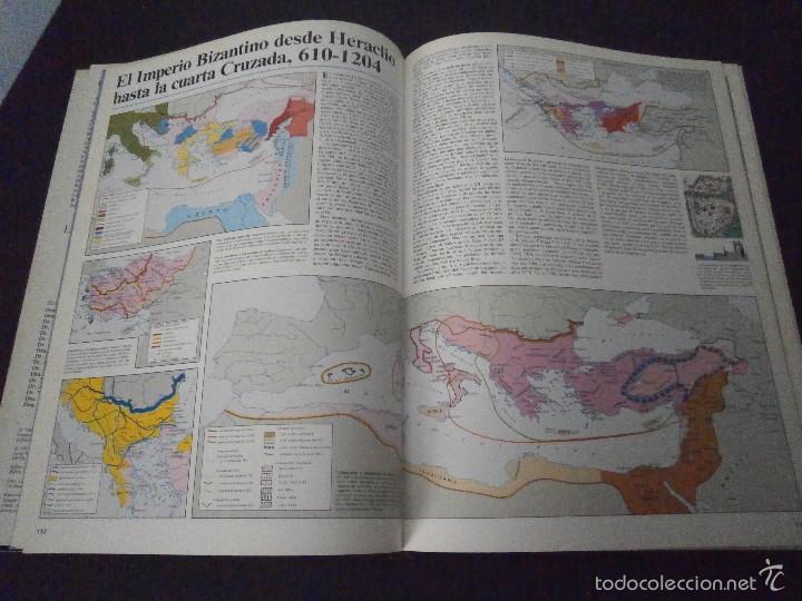 Enciclopedias de segunda mano: 1 LIBRO AÑO 1985 - GRAN ATLAS DE HISTORIA ( TOMO 3 ) - Foto 3 - 60662403