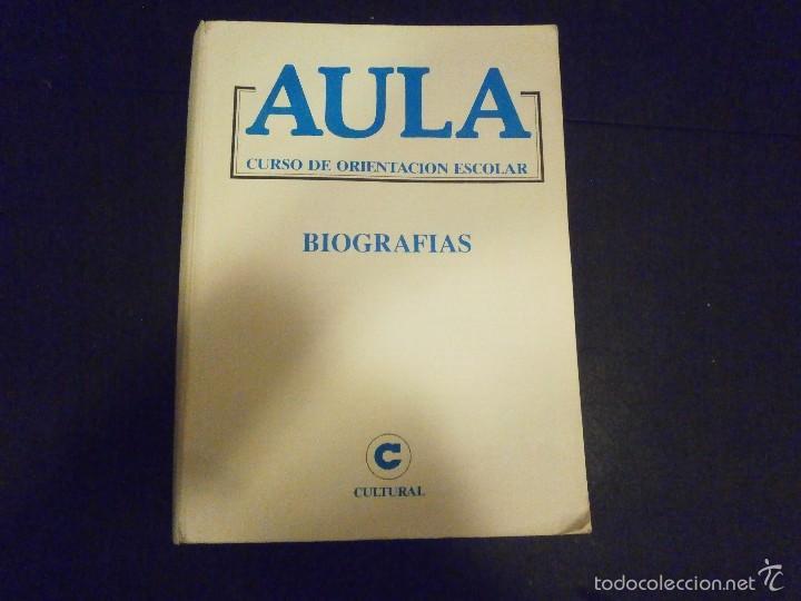 1 LIBRO DE ORIENTACION ESCOLAR - BIOGRAFÍAS (Libros de Segunda Mano - Enciclopedias)