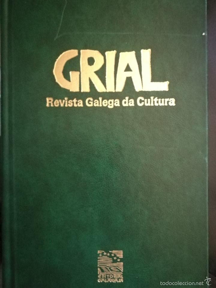 GRIAL REVISTA GALEGA DA CULTURA. COLECCIÓN.GALAXIA 1988 (Libros de Segunda Mano - Enciclopedias)
