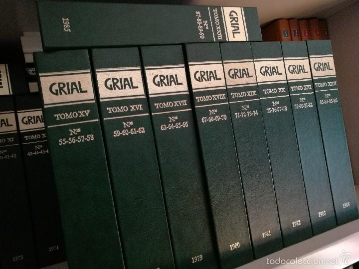 Enciclopedias de segunda mano: Grial Revista Galega da Cultura. Colección.Galaxia 1988 - Foto 3 - 60719855