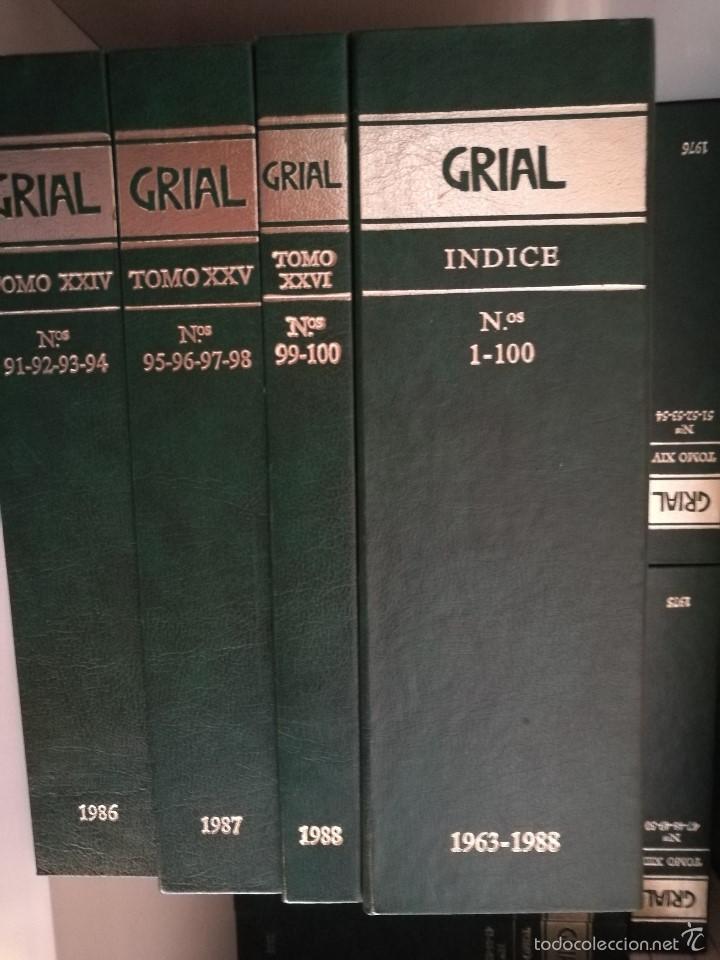 Enciclopedias de segunda mano: Grial Revista Galega da Cultura. Colección.Galaxia 1988 - Foto 4 - 60719855