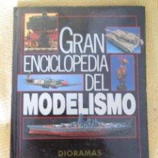 Enciclopedias de segunda mano: GRAN ENCICLOPEDIA DEL MODELISMO - DIORAMAS SENCILLOS. Lote 61130227