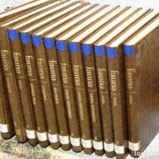 Enciclopedias de segunda mano: ENCICLOPEDIA COMPLETA SALVAT DE LA FAUNA FELIX RODRIGUEZ DE LA FUENTE 1974 12 TOMOS. Lote 61698684