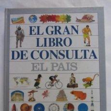 Enciclopedias de segunda mano: EL GRAN LIBRO DE CONSULTA. EL PAIS. ED. EL PAIS/ALTEA. 1995. Lote 62245164