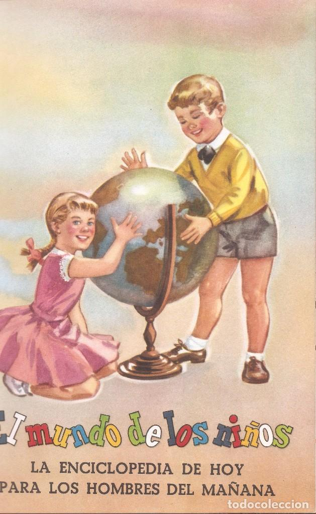 Enciclopedias de segunda mano: LIBRO PRESENTACIÓN ENCICLOPEDIA EL MUNDO DE LOS NIÑOS - SALVAT EDITORES, 1958. - Foto 2 - 62817264