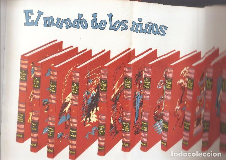 Enciclopedias de segunda mano: LIBRO PRESENTACIÓN ENCICLOPEDIA EL MUNDO DE LOS NIÑOS - SALVAT EDITORES, 1958. - Foto 7 - 62817264