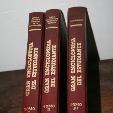 Enciclopedias de segunda mano: GRAN ENCICLOPEDIA DEL ESTUDIANTE, EDITORIAL KRONOS 1983, JOSE ANTONIO RUIZ PINA, LIBROS ANTIGUOS. Lote 63015980