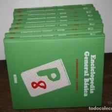 Enciclopedias de segunda mano: ENCICLOPEDIA GENERAL BASICA P 8, OCEANO 1980, 8 TOMOS, LIBROS. Lote 63016520