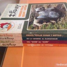 Enciclopedias de segunda mano: LOTE 4 TOMOS ENCICLOPEDIA DISNEY. Lote 63169203