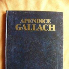 Livros em segunda mão: LIBRO APENDICE GALLACH 2008 TOMO 1 ACONTECIMIENTOS DE 2005 A 2007 - EDITORIAL INSTITUTO GALLACH. Lote 63378344
