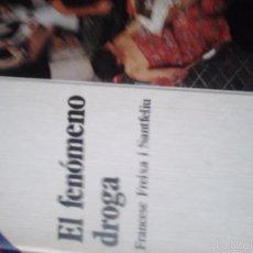Livres d'occasion: AULA ABIERTA SALVAT. EL FENÓMENO DROGA. Lote 63546536
