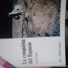 Livres d'occasion: AULA ABIERTA SALVAT. LA CONQUISTA DEL ESPACIO. Lote 63549000