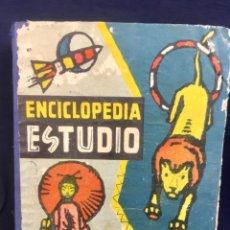 Enciclopedias de segunda mano: ENCICLOPEDIA ESTUDIO LIBRO AZUL EDICION ESPECIAL 1960 CICLO DE PERFECCIONAMIENTO PLA -DALMAU. Lote 146061330