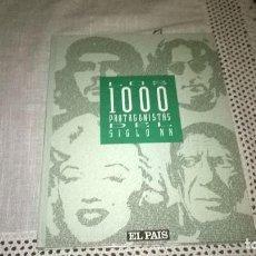 Enciclopedias de segunda mano: 1000 PROTAGONISTAS DEL S. XX. Lote 64462911