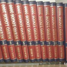 Enciclopedias de segunda mano: ENCICLOPEDIA NUEVO LOGOS 2000. Lote 64623639
