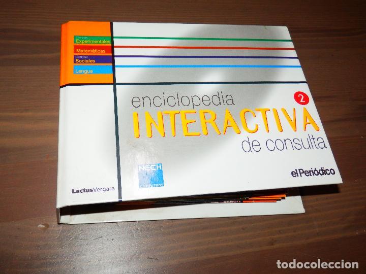 ENCICLOPEDIA INTERACTIVA DE CONSULTA 2 EL PERIODICO LECTUS VERGARA COMPLETA TOTALMENTE 21 CD ROMS (Libros de Segunda Mano - Enciclopedias)
