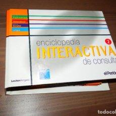 Enciclopedias de segunda mano: ENCICLOPEDIA INTERACTIVA DE CONSULTA 2 EL PERIODICO LECTUS VERGARA COMPLETA TOTALMENTE 21 CD ROMS. Lote 64940119