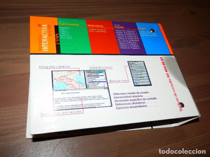 Enciclopedias de segunda mano: ENCICLOPEDIA INTERACTIVA DE CONSULTA 2 EL PERIODICO LECTUS VERGARA COMPLETA TOTALMENTE 21 CD ROMS - Foto 2 - 64940119