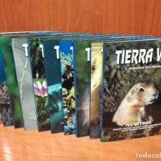 Enciclopedias de segunda mano: TIERRA VIVA. ANIMALES DEL MUNDO - 10 TOMOS, COLECCION COMPLETA - EDICIONES AUPPER. Lote 48545248