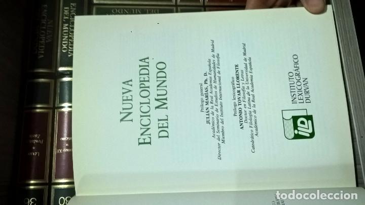 Enciclopedias de segunda mano: NUEVA ENCICLOPEDIA DEL MUNDO. INST. LEX. DURVAN 37 tomos - Foto 8 - 68419381