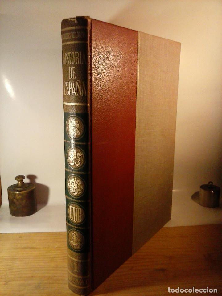 HISTORIA DE ESPAÑA - SALVAT - 6 TOMOS (1974) (Libros de Segunda Mano - Enciclopedias)