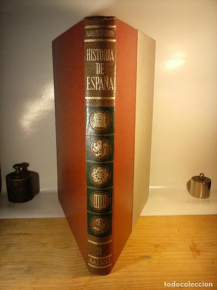 Enciclopedias de segunda mano: HISTORIA DE ESPAÑA - Salvat - 6 tomos (1974) - Foto 3 - 68795537