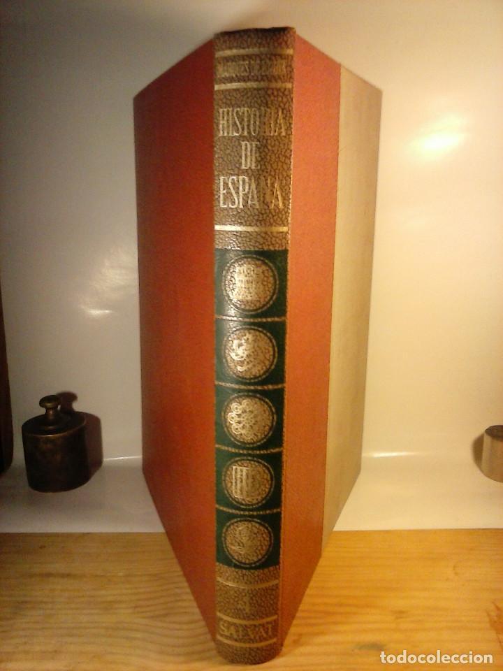 Enciclopedias de segunda mano: HISTORIA DE ESPAÑA - Salvat - 6 tomos (1974) - Foto 4 - 68795537
