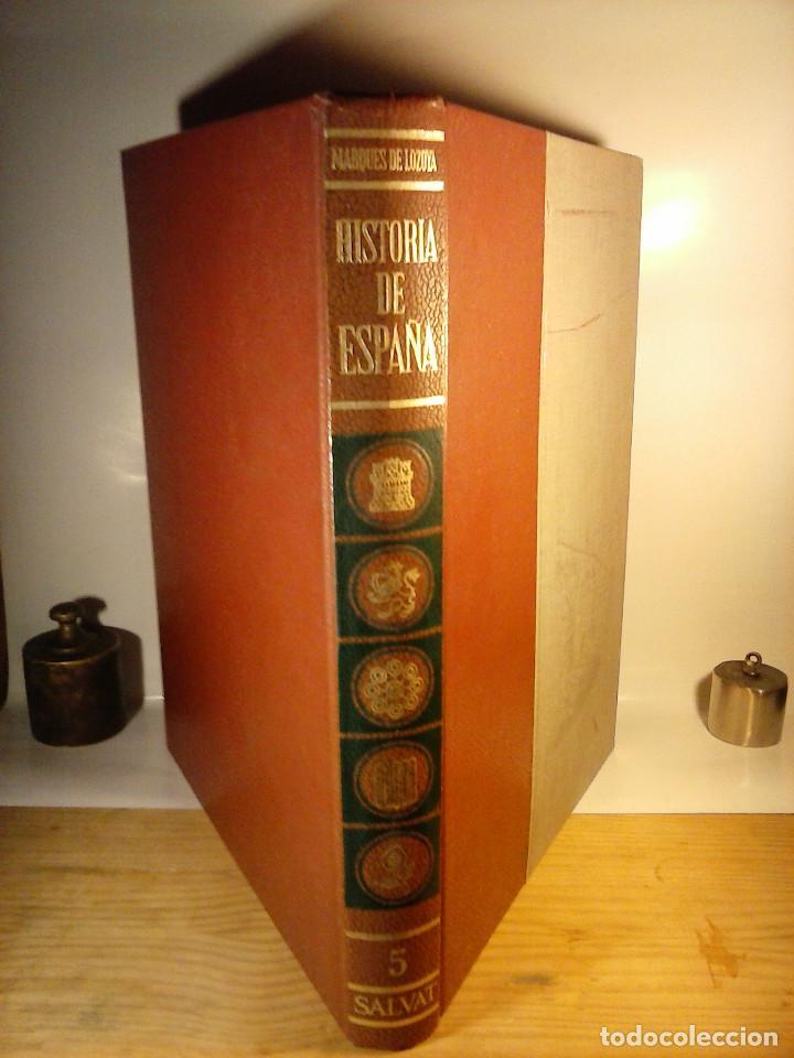 Enciclopedias de segunda mano: HISTORIA DE ESPAÑA - Salvat - 6 tomos (1974) - Foto 5 - 68795537