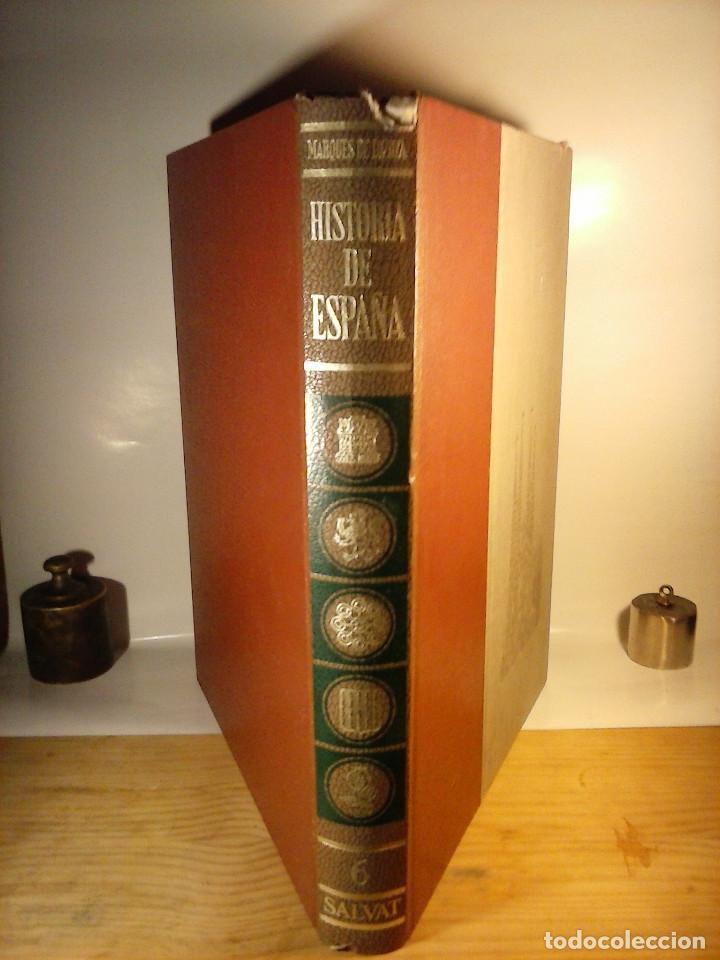 Enciclopedias de segunda mano: HISTORIA DE ESPAÑA - Salvat - 6 tomos (1974) - Foto 6 - 68795537