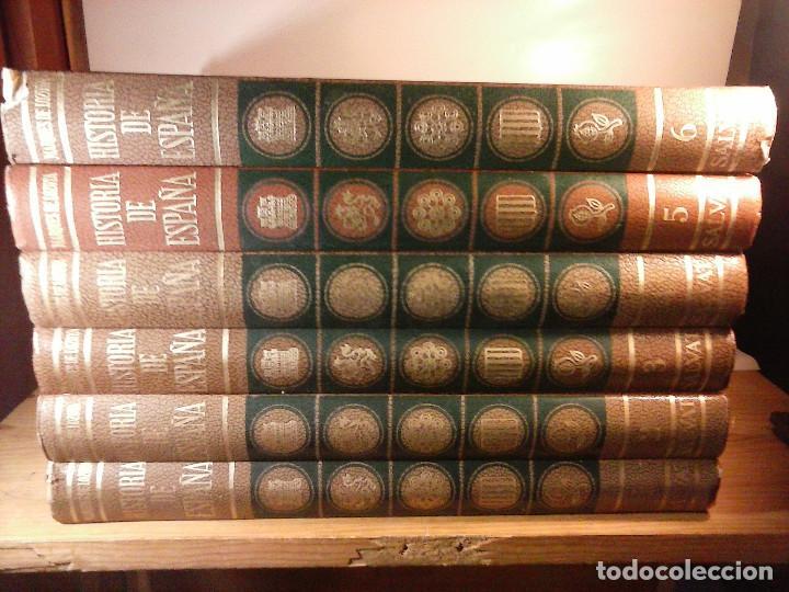 Enciclopedias de segunda mano: HISTORIA DE ESPAÑA - Salvat - 6 tomos (1974) - Foto 7 - 68795537