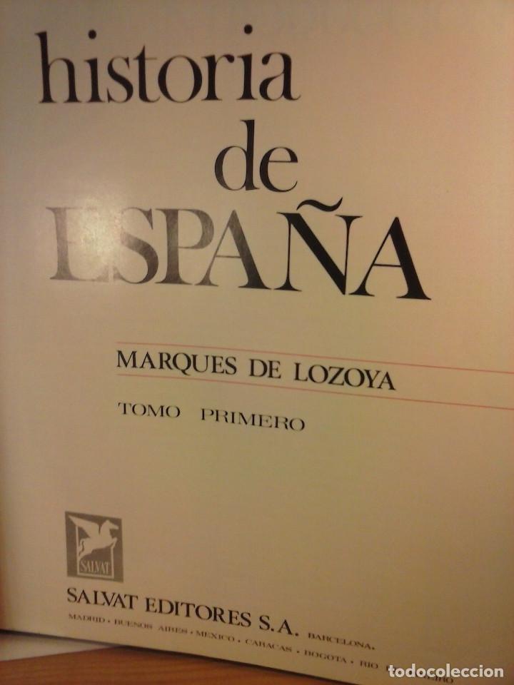 Enciclopedias de segunda mano: HISTORIA DE ESPAÑA - Salvat - 6 tomos (1974) - Foto 9 - 68795537