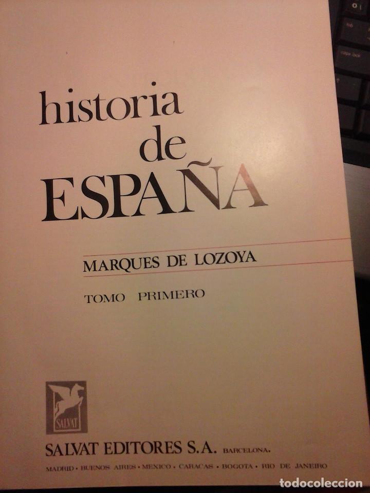 Enciclopedias de segunda mano: HISTORIA DE ESPAÑA - Salvat - 6 tomos (1974) - Foto 11 - 68795537