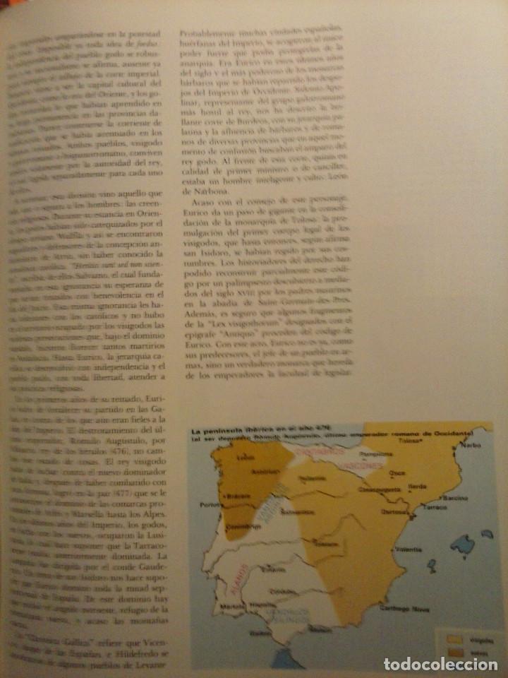 Enciclopedias de segunda mano: HISTORIA DE ESPAÑA - Salvat - 6 tomos (1974) - Foto 16 - 68795537