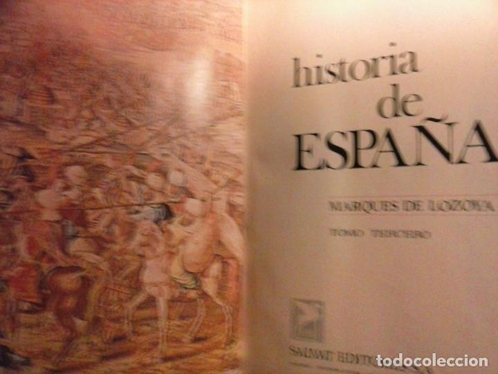 Enciclopedias de segunda mano: HISTORIA DE ESPAÑA - Salvat - 6 tomos (1974) - Foto 19 - 68795537