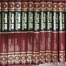 Enciclopedias de segunda mano: MARAVILLAS DEL SABER - ENCICLOPEDIA 12 TOMOS ( COMPLETA) , ENCICLOPEDIA/MUNDI. Lote 69825937