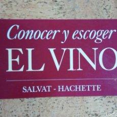 Enciclopedias de segunda mano: ENCICLOPEDIA DE FASCICULOS DE -CONOCER Y ESCOGER EL VINO-. Lote 69950622